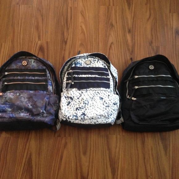 Lululemon pack to reality backpack black